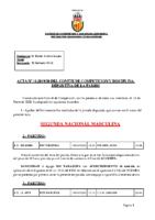 ACTA Nº 11 FEDERADA 2019-2020