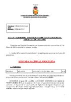ACTA Nº 12 FEDERADA 2019-2020