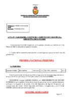 ACTA Nº 13 FEDERADA 2019-2020. Modificada