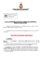 ACTA Nº 14 FEDERADA 2019-2020