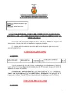 ACTA Nº 6 ESCOLAR 2019-2020