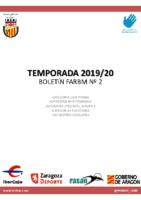 BOLETIN Nº2 2019-20