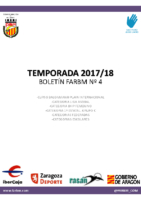 BOLETIN Nº4. TEMPORADA 2017-18