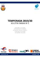 BOLETIN Nº5 2019-20