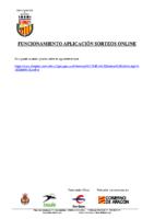 FUNCIONAMIENTO APLICACIÓN SORTEOS ONLINE