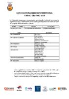 JUVENIL MASCULINA – Torneo del Ebro