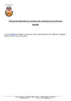 ORGANO DE GOBIERNO FEDERACIÓN ARAGONESA DE BALONMANO