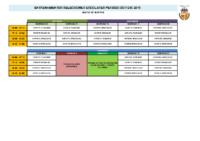 Selecciones Escolares Oct-Dic