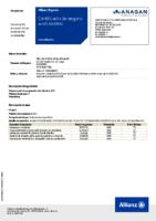 Certificado Fed. Balonmano. POLIZA SEGURO DEPORTIVO 2019-2020