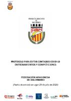 Protocolo Covid. FARBM 5-8-2020