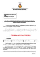 ACTA Nº 12 FEDERADA 2020-2021