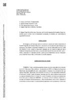 Resolución Gobierno de Aragón. Recurso AD Balonmano Ejea