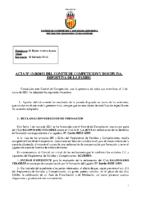 ACTA Nº 13 FEDERADA 2020-2021
