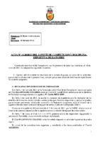 ACTA Nº 14 FEDERADA 2020-2021
