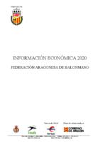 INFORMACIÓN ECONÓMICA 2020