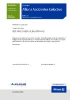 POLIZA SEGURO DEPORTIVO. FEDERADOS 2021-2022